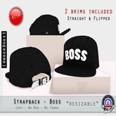 [UnderDogs] - StrapBack - Boss - Mesh (Flipped/Straight Brims)