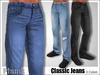 [Phunk] Mesh Men's Classic Jeans