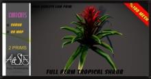 ALESTA << GIFT Mesh Tropical Shrub Plant 1 Full Perm
