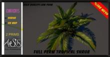 ALESTA << GIFT Mesh Tropical Shrub Plant 2 Full Perm