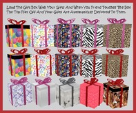 * Bliss Designs ~ 15 Gift Boxes ~ Variety Pack 1