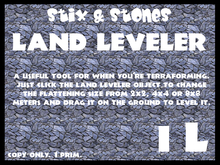 ~S&S~ Land Leveler (boxed) [mov]