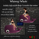 ~tc~ Whimsy Whale - Pink