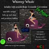 ~tc~ Petites Whimsy Whale - Pink
