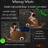 ~tc~ Petites Whimsy Whale - Tan
