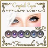 """""""Farouche""""Crystal Eyes"""