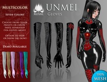 [ROSAL] UNMEI Gloves - Multicolor (Mesh)