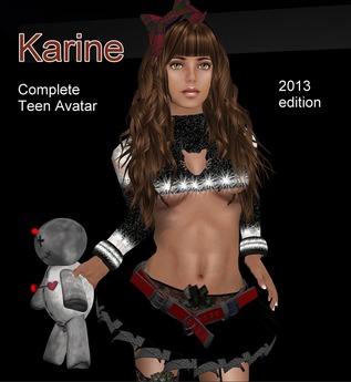 Highschool Teen avatar Karine - NOW 1 L$