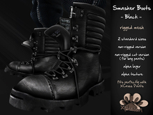 *X*plosion Smasher Boots (Black)