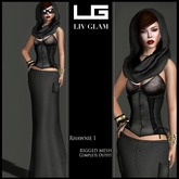[LIV-Glam]WINTER-2012- Rhawnie Outfit I HudWearMe