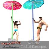 [SWaGGa] MESH Wearable MALE Dancepole 5 Dances