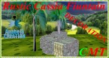 RUSTIC CASSIA FOUNTAIN