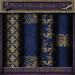 ~TTT~ Nighty's Gold & Blue Fabric Textures
