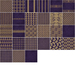 ttt  nighty's gold   purple fabric contact sheet