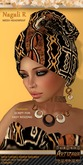 :: ARTIZANA :: NAGALI R Mesh Headwrap