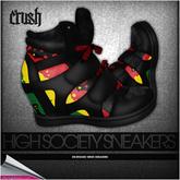 crush - high society sneakers - rasta