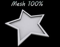 T-3D Creations [STAR Tray] MESH - Full Perm -