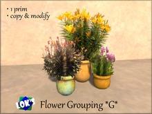 Lok's Flower Grouping G - 1 LI, copy and modify