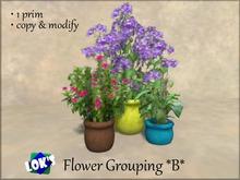 Lok's Flower Grouping B - 1 LI, copy and modify