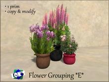 Lok's Flower Grouping E - 1 LI, copy and modify
