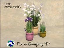 Lok's Flower Grouping D - 1 LI, copy and modify