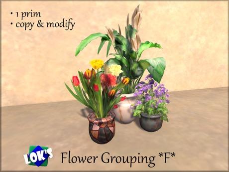 Lok's Flower Grouping F - 1 LI, copy and modify