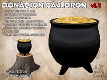 ~Nadia~ Donation Cauldron - Scripted and fully configurable donation box!