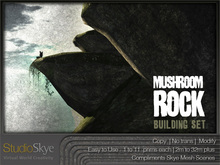 :NEW: Mushroom Rock Building Set - 100% MESH