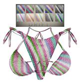 DRIFT Tini Kini [MESH] Knit Stripes2 Set w/color changeHUD
