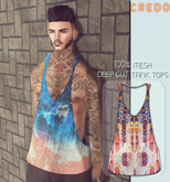 CREDO - {Flash Mob} Deep_Cut_TankTop