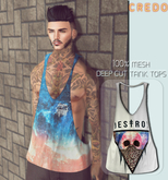 CREDO - {Destroy} Deep_Cut_TankTop