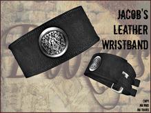 Jacob's Leather Wristband