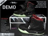 DEMO Rerty R-YEEZY (Black red)