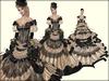 Boudoir -Victorian Ball Gown-Nude Chantilly