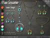 Necklace - Sybil's LadyBug Amulet