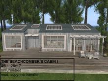 The Beachcomber's Cabin I(45LI, 17x27)