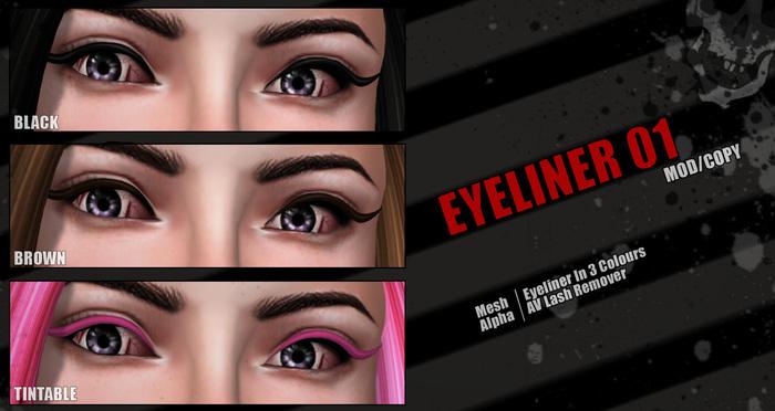 Action Mesh Eyeliner 01