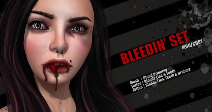 Action Mesh Bleedin Set 01