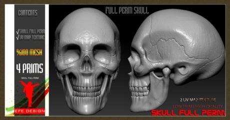 Skull Full perm EFE DESIGN