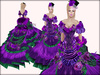 Boudoir -Victorian Ball Gown-Antique Poison