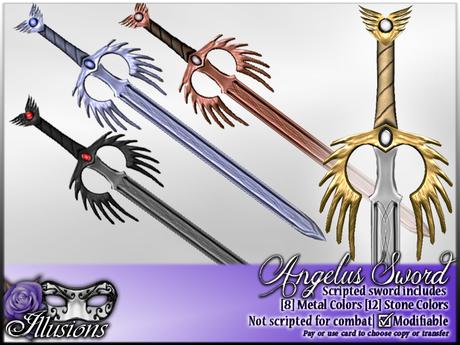 *~*Illusions*~* Angelus Sword