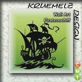 *~> Kruemelz Design <~* Wall Art Piratenschiff