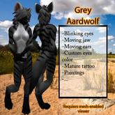 Furry Aardwolf -