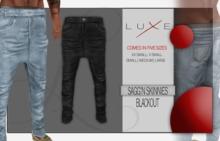 -LUXE- Sagg'n Skinnies - Blackout