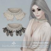 lassitude & ennui Viola lace collar - antique