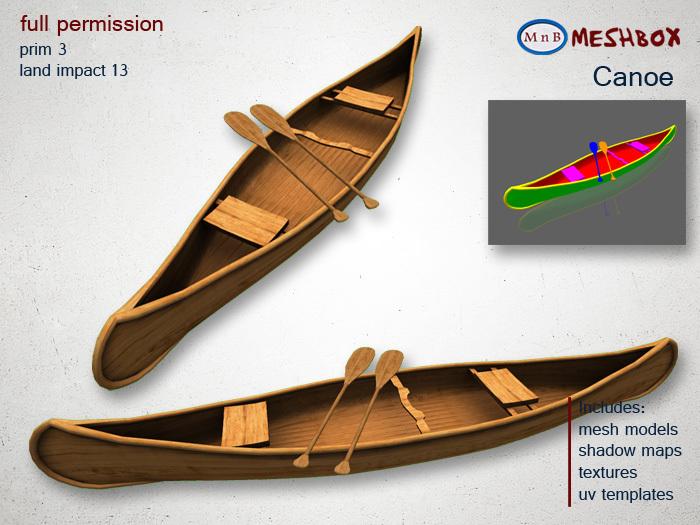 *M n B* Canoe (meshbox)