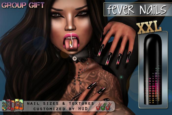 [ S H O C K ] FEVER Nails XXL