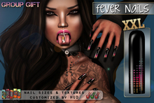 [ S H O C K ] FEVER Nails XXL