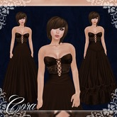 [K~*~S] Cora - Gown - Chocolate