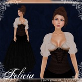 [K~*~S] Felicia - Gown - Chocolate